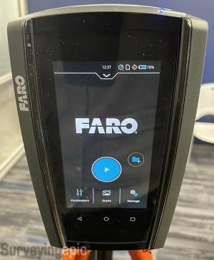 FARO Focus M70 Scanner Mint Condition