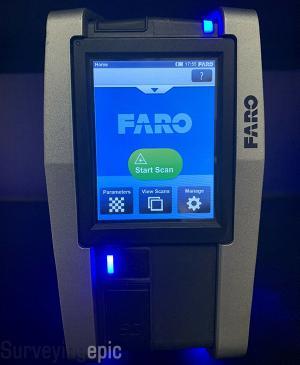 Faro Focus S120 Scanner Mint Condition