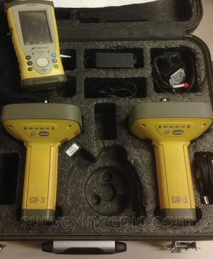 Topcon GR-3 Digital UHF RTK GPS Glonass