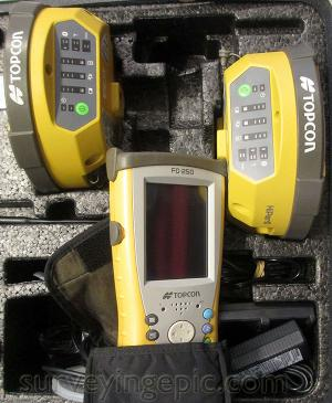 Topcon Hiper II RTK GPS GNSS Glonass FC-250