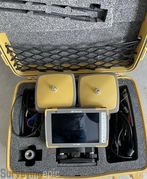 Topcon Hiper VR Base Rover GNSS RTK FC5000