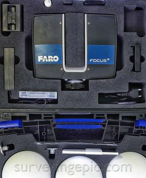 FARO Focus 3D S350 scanner in mint condition